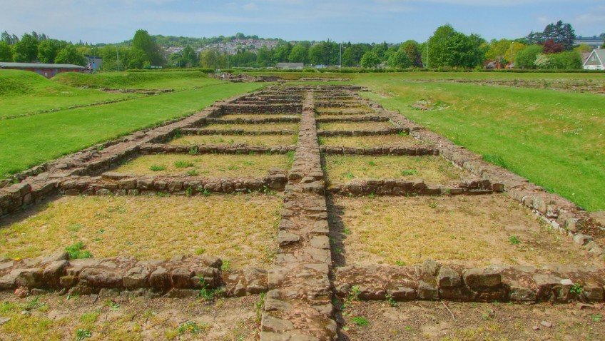 Archaeologists discover Roman port in Wales