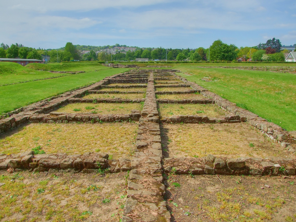 Roman Barracks Caerleon : Image Source : Creative Commons