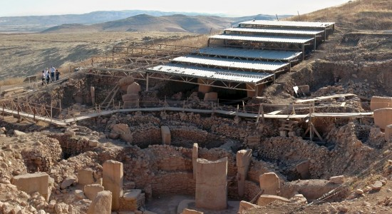 Göbekli Tepe (Turkey) : Image Souce : Wiki Commons