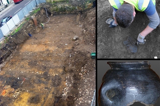 Roman remains discovered in Bath
