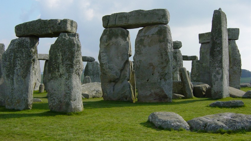 Stonehenge as you've never seen it