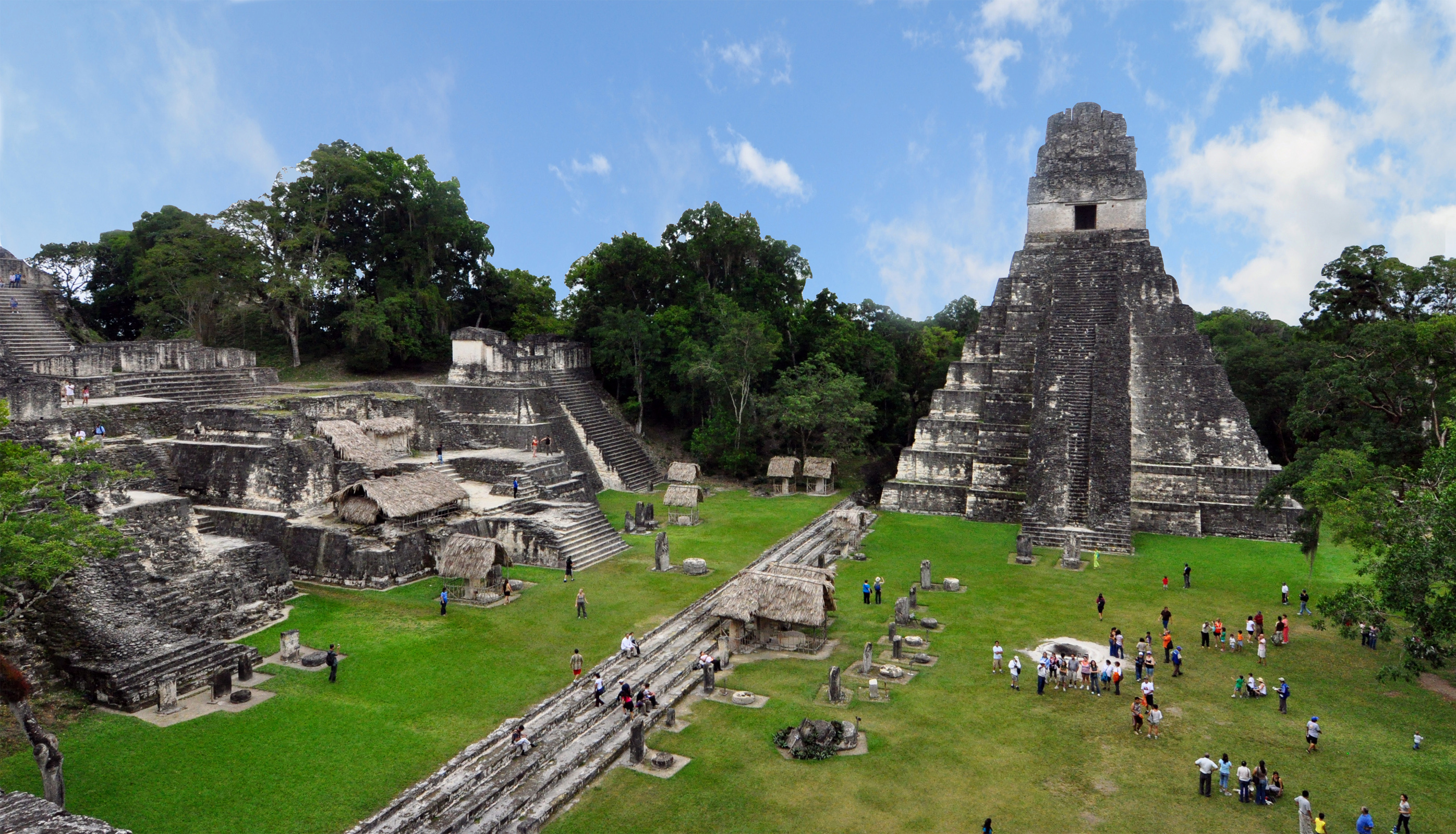 Tikal Ruins : Wiki Commons