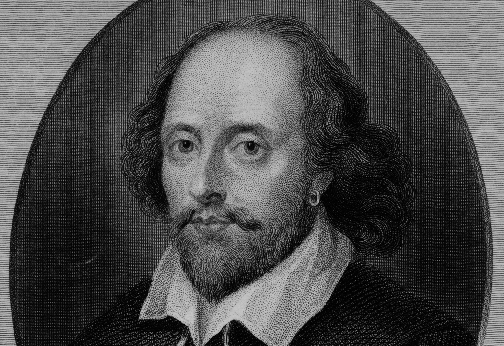 <b>William Shakespeare</b> : Wiki Commons - SHAKE1