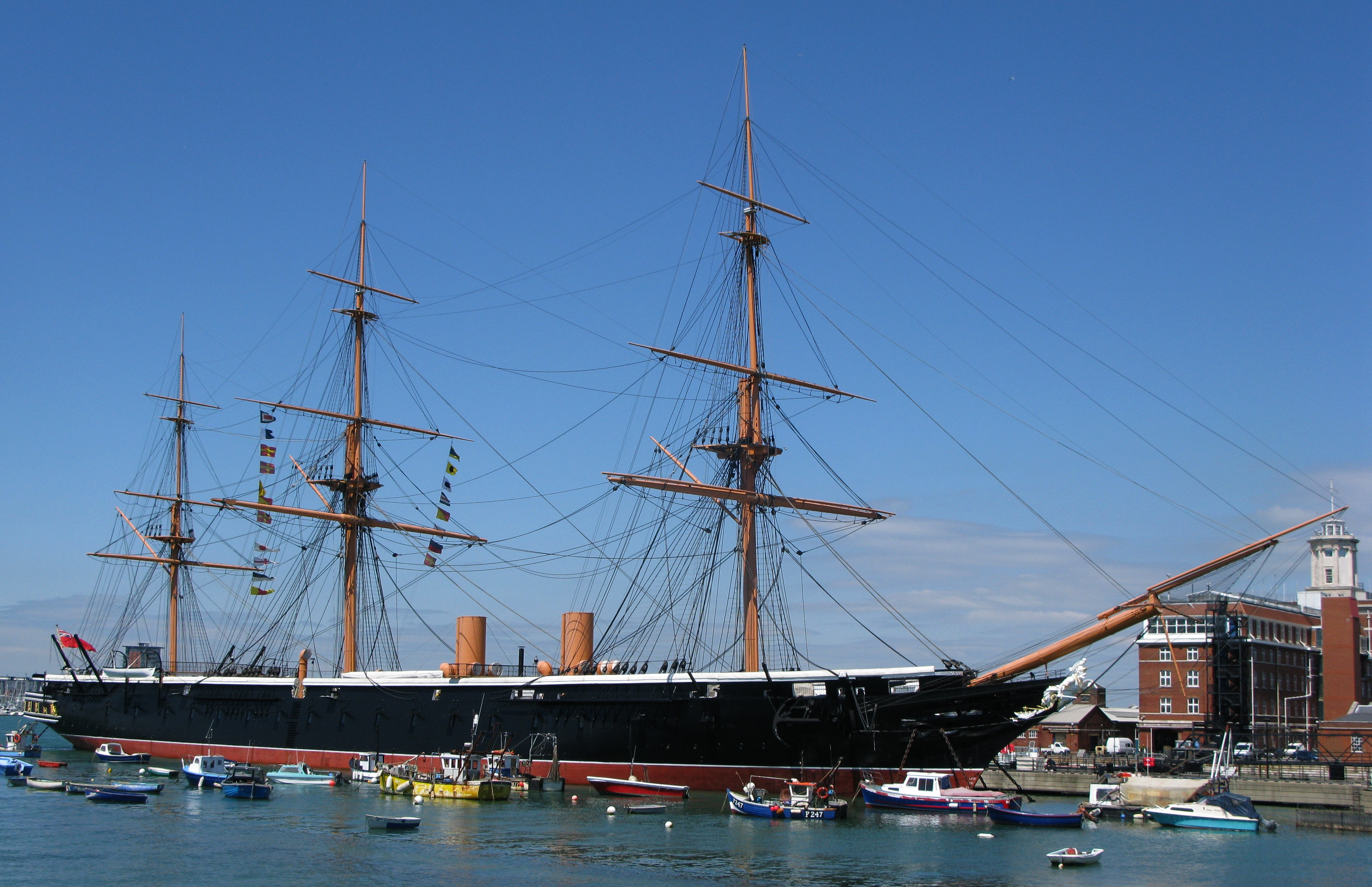 HMS Warrior : Wiki Commons