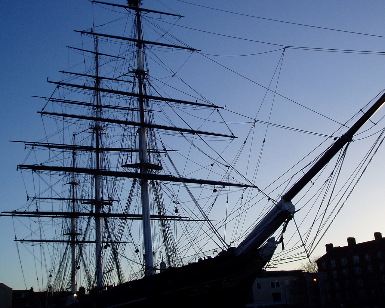 Her Majesty The Queen Reopens Cutty Sark on 25 April 2012