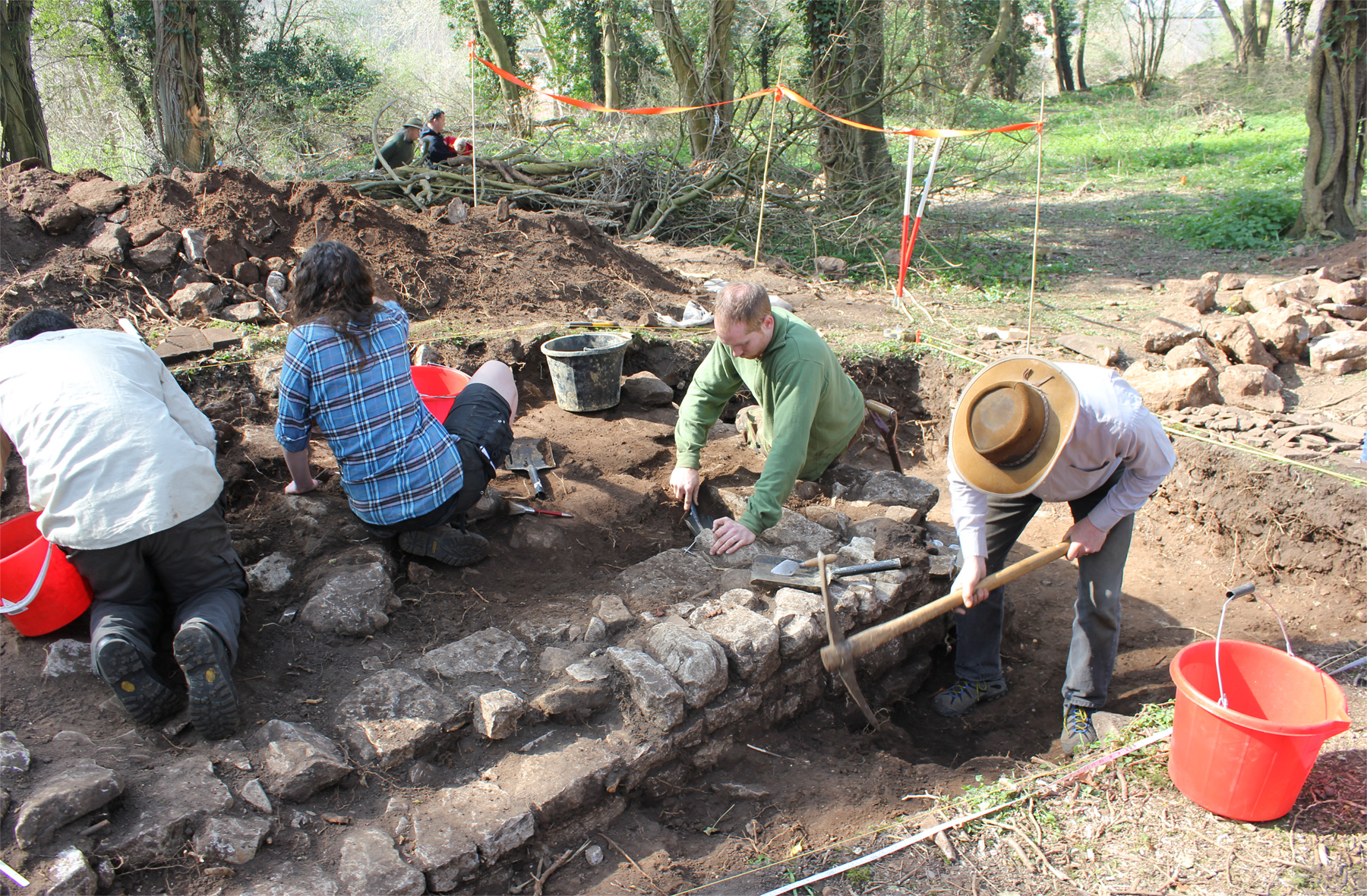 Soldiers discover Roman Hypocaust in South Wales