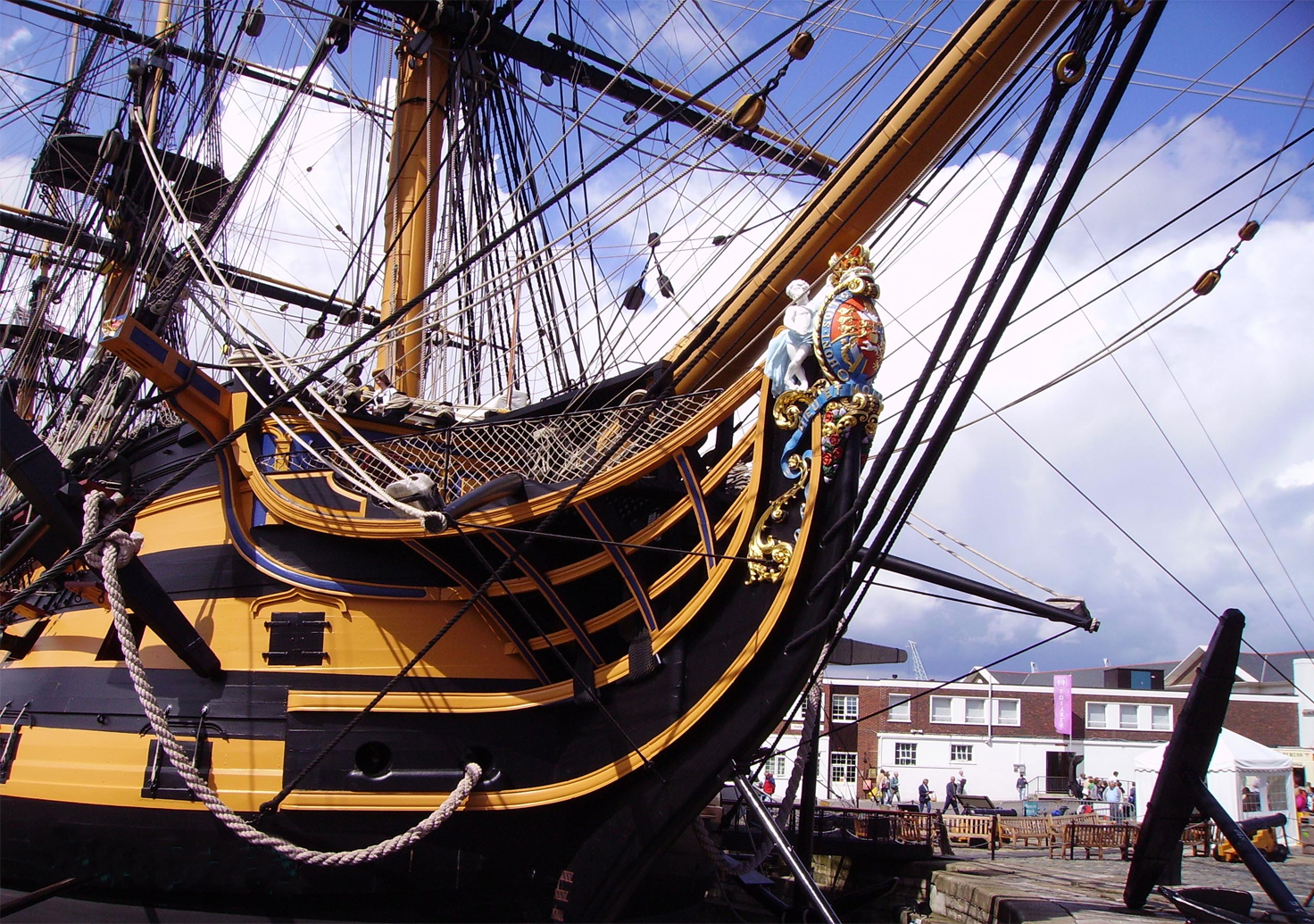 Article Custodianship of HMS Victory changes hands