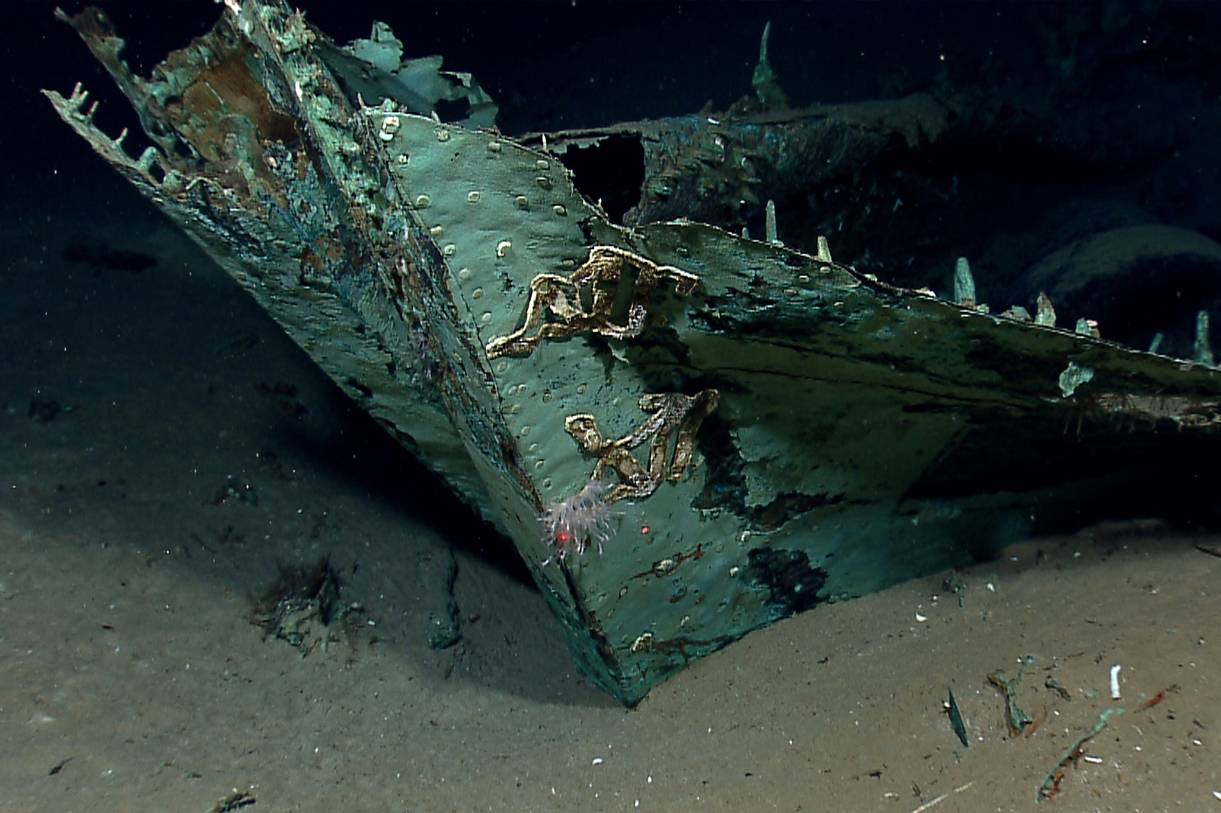 Historic, 19th century shipwreck discovered in northern Gulf of Mexico