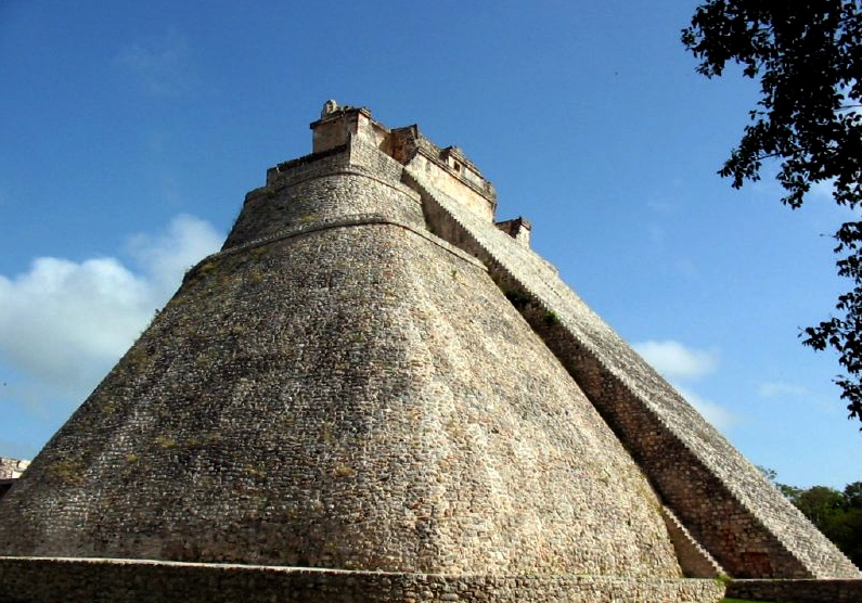 Pyramid of the Magician, Uxmal, Yucantan