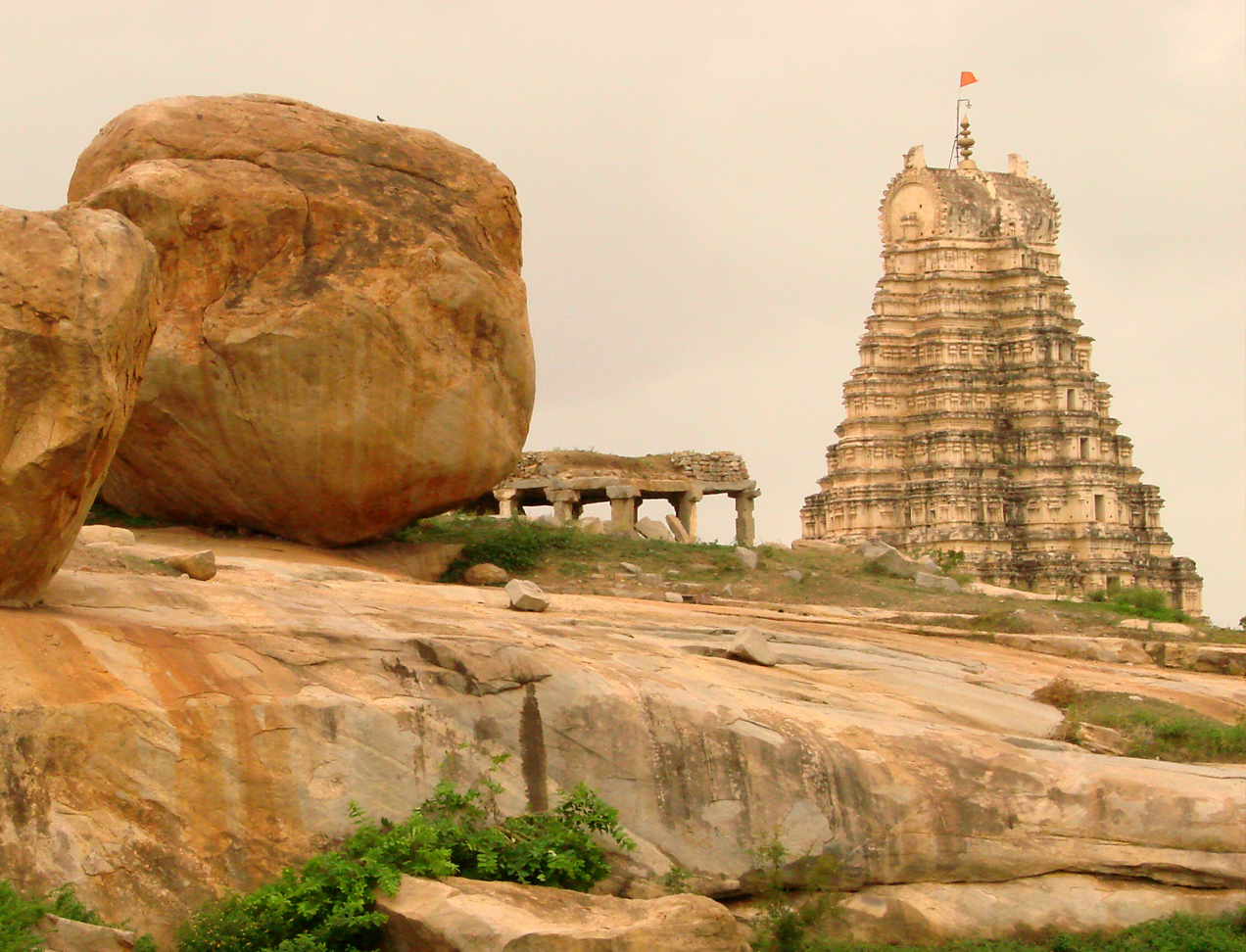 VIrupaksha Temple at Hampi India