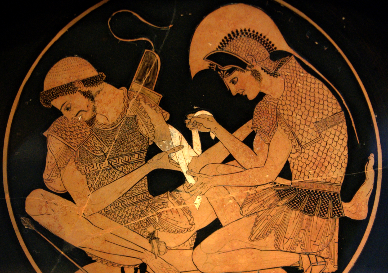 character analysis of achilles in the illiad by homer The iliad-character analysis achilles- + son of peleus and sea-nymph thetis + most powerful warrior + commander of the myrmidons (phthia in greece's soldiers.