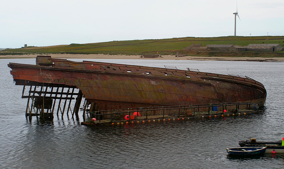 Block Ship, Scapa Flow John Haslam