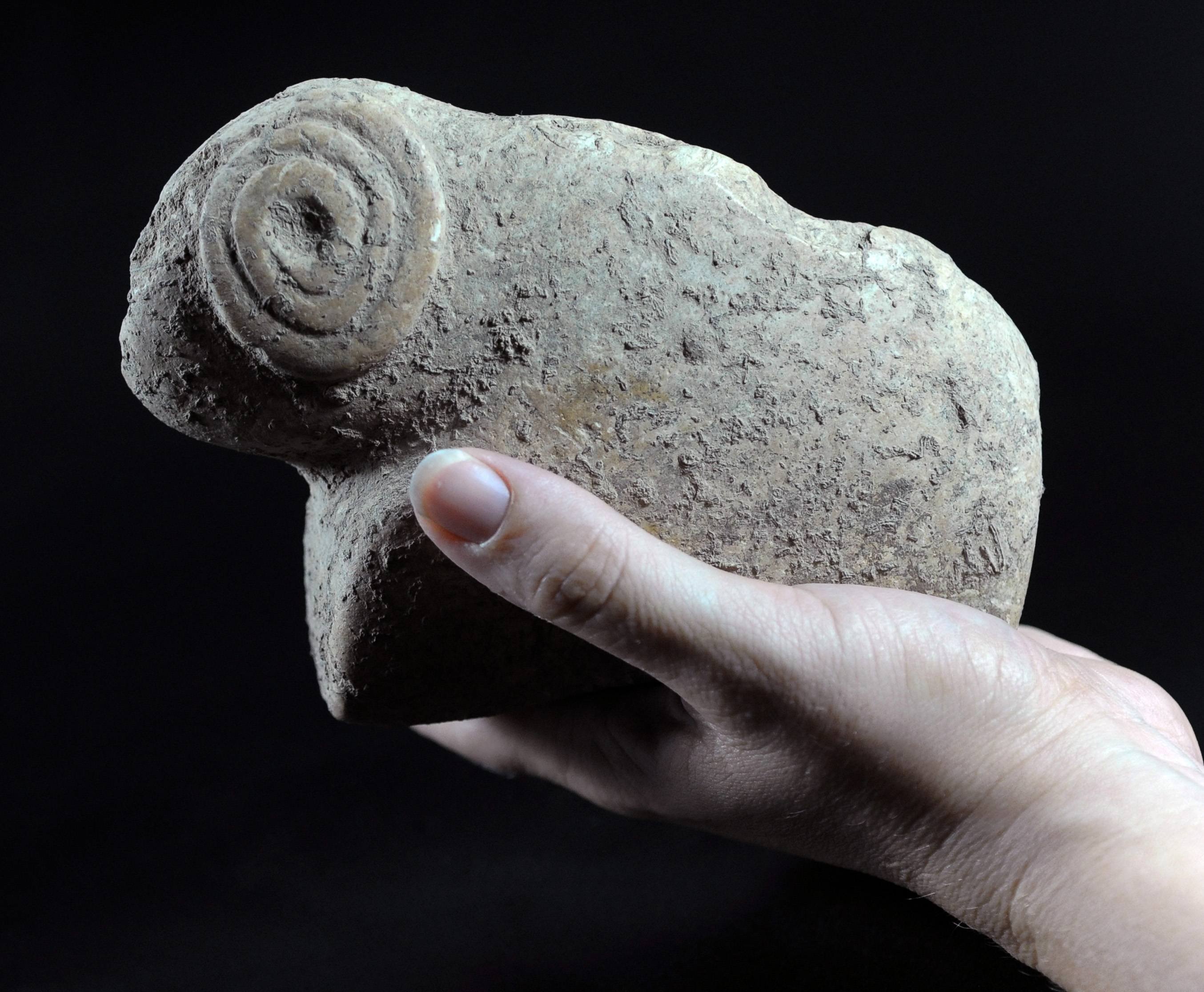 Stone Age Figurines were Exposed in Archaeological Excavations at Tel Moza near Jerusalem