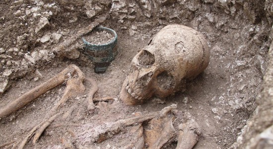 Saxon Burial Credit Simon T James