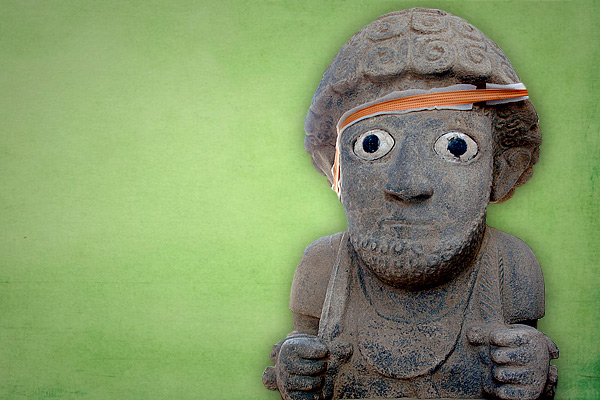 Archaeologists unearth extraordinary human sculpture in Turkey