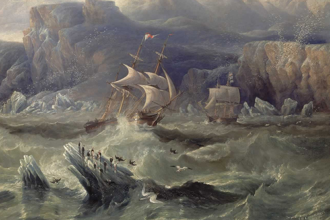 Government of Canada's Search for Lost Franklin Ships Delivers Numerous Collateral Results