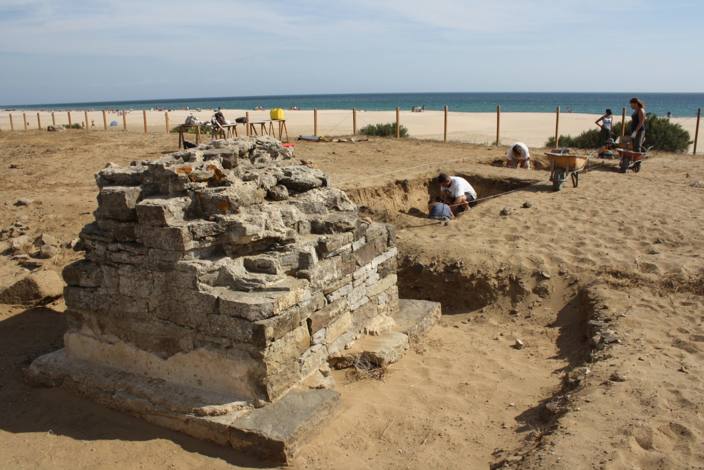 Archaeological research exposes the funeral ritual in the Strait of Gibraltar