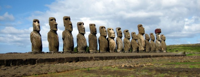 Easter Island statues 'walked' into position, say experts
