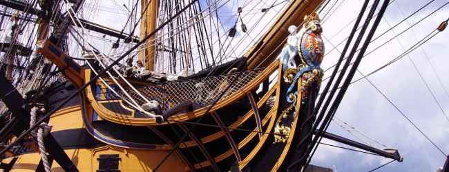 Launch of Defence Archaeology Group on board historic HMS Victory
