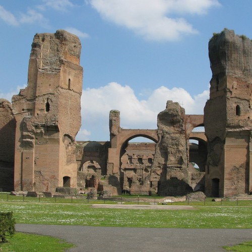 Restoration of Roman tunnels gives a slave's eye view of Caracalla baths