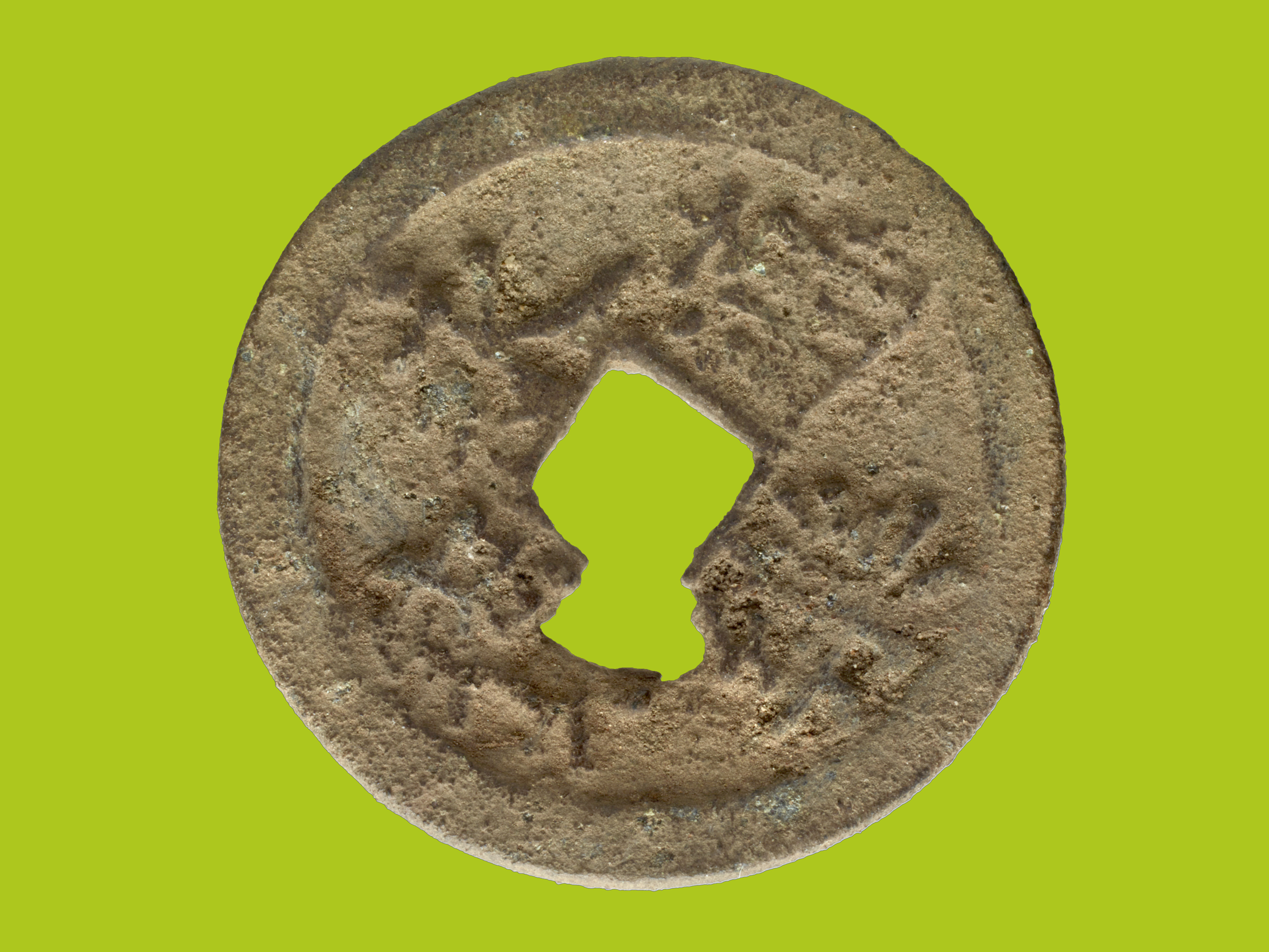 Ancient Chinese coin found on Kenyan island by Field Museum expedition