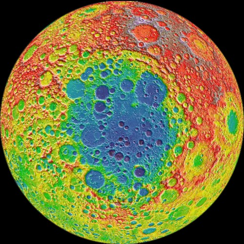 Ancient crater may be clue to Moon's mantle