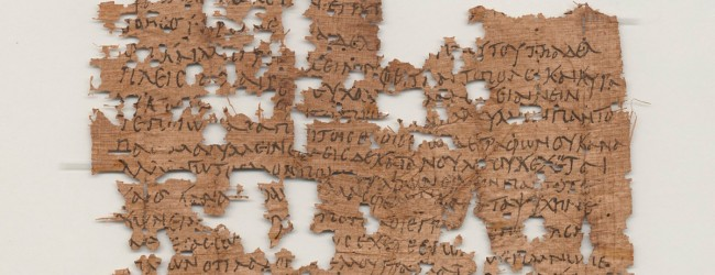 1,800-year-old letter from Egyptian soldier deciphered