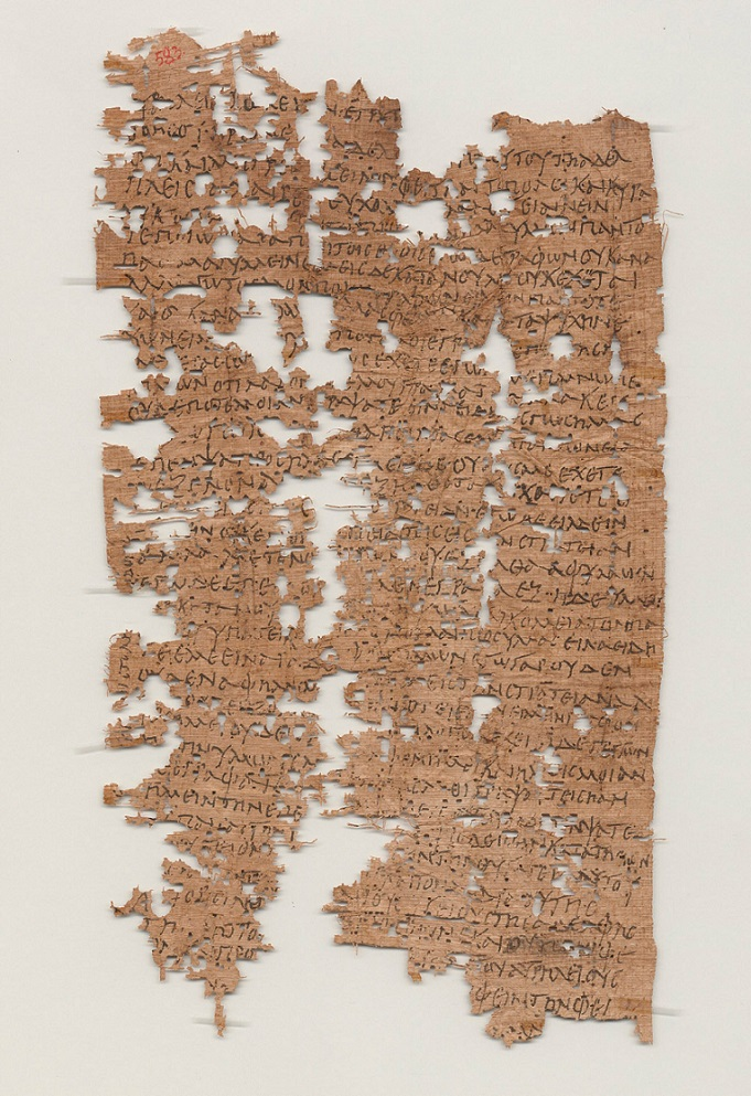 Image courtesy of University of California, Berkley's Bancroft Library. - See more at: http://news.rice.edu/2014/03/14/rice-grad-student-deciphers-1800-year-old-letter-from-egyptian-soldier/#sthash.y5R3sVXA.dpuf