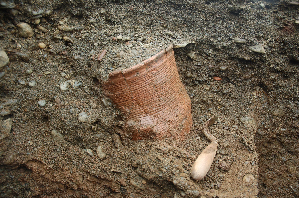 Neolithic/Bronze Age Beaker Find © GUARD Archaeology Ltd