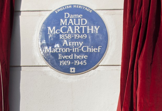 First World War Head Nurse Honoured with a Blue Plaque
