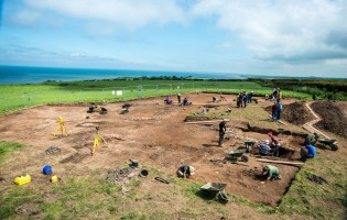 Archaeologists back on site to excavate Roman Temple