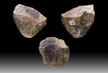 The economic territory of Upper Palaeolithic Groups is specified by flint