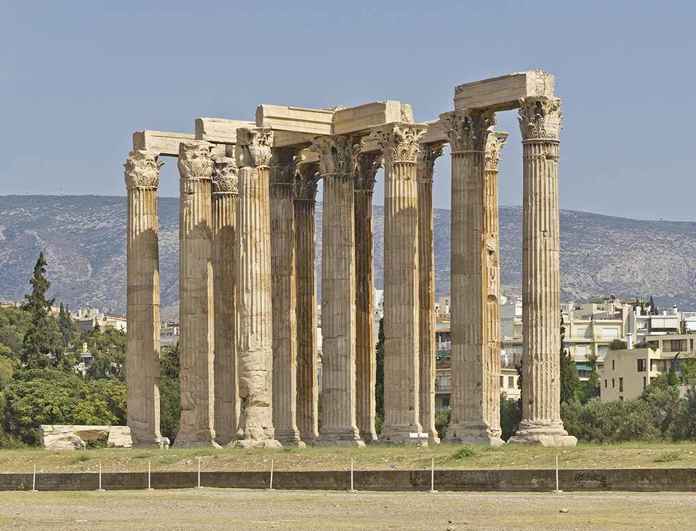 Temple of Olympian Zeus: WikiPedia