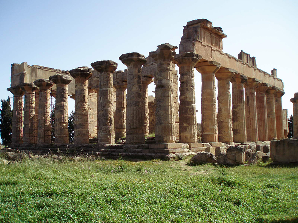 Temple of Zeus at Cyrene: Wikimedia