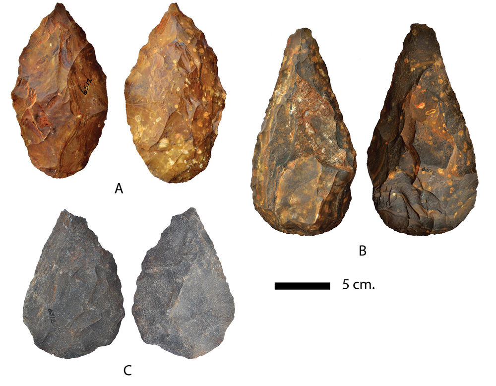 Hand axes collection: University of Toronto