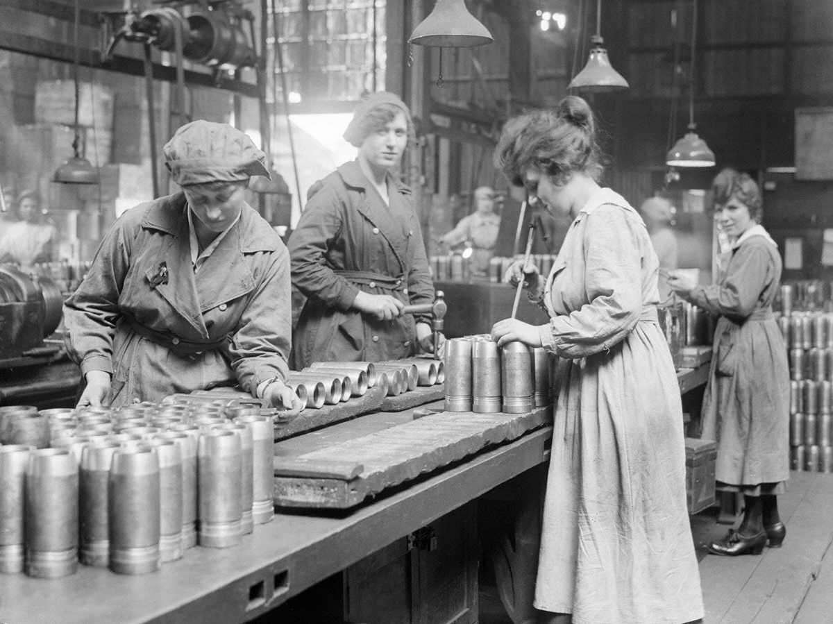 The ignored women of World War I - HeritageDaily - Heritage ...