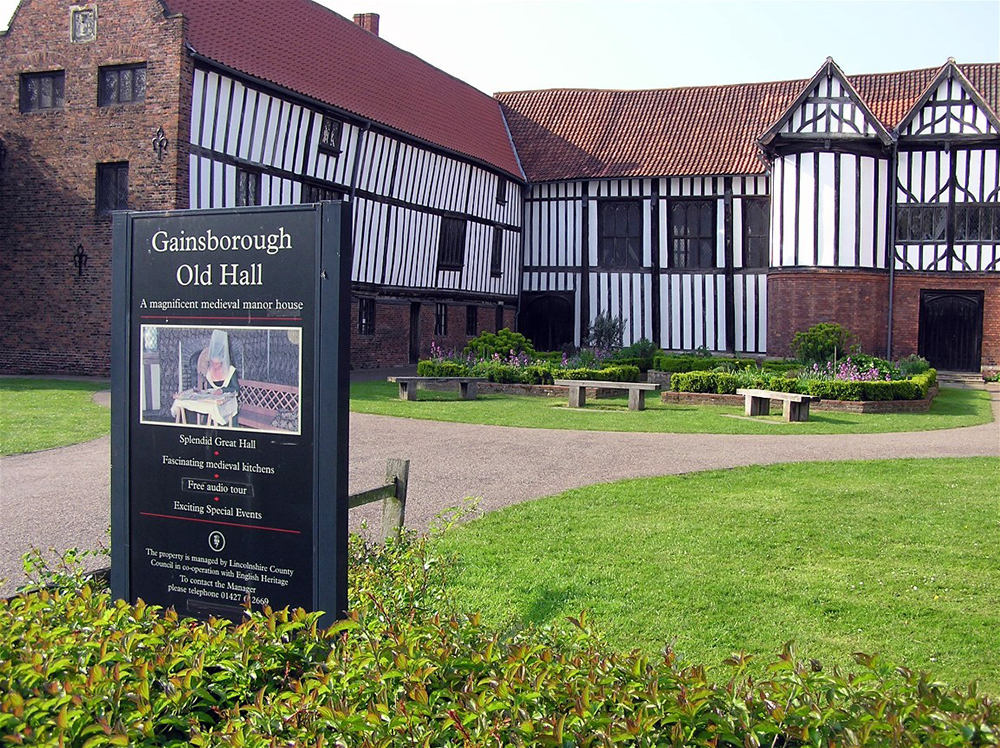 Gainsborough Old Hall: Wikimedia