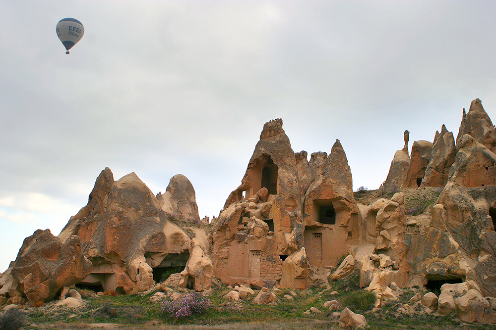 Göreme National Park and the Rock Sites of Cappadocia: WikiPedia