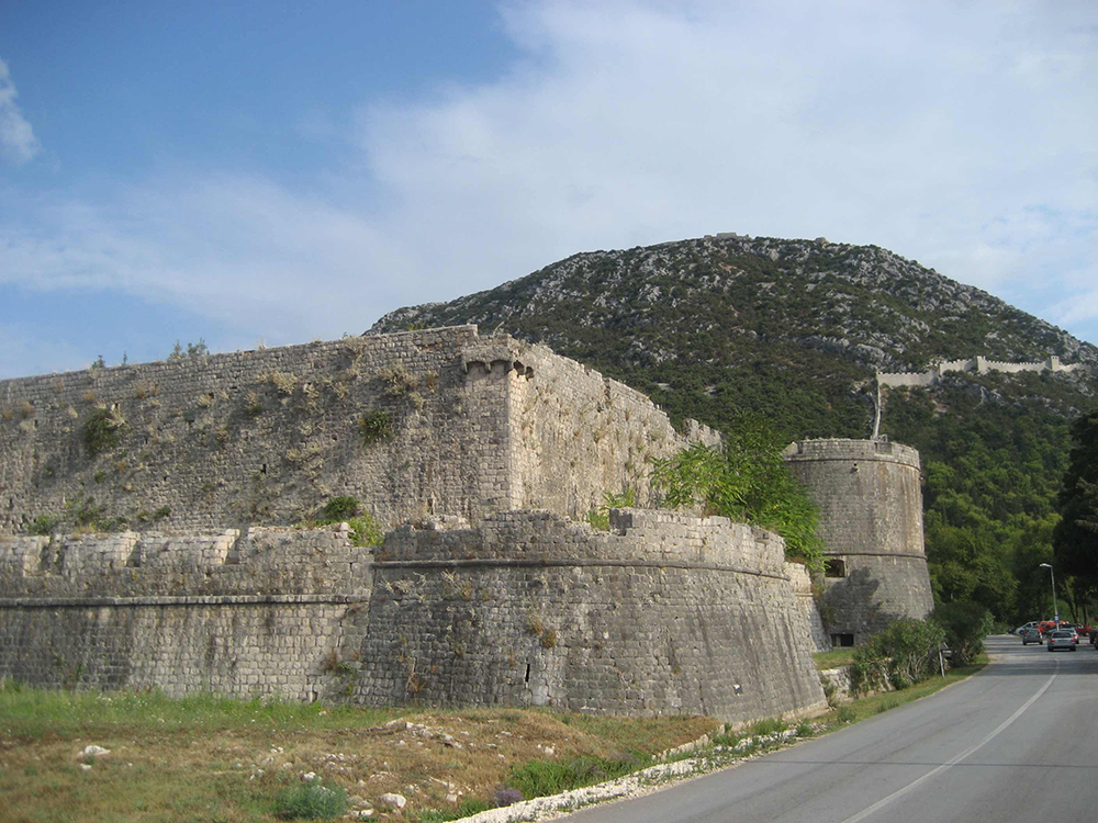 The Walls of Ston: Wikimedia