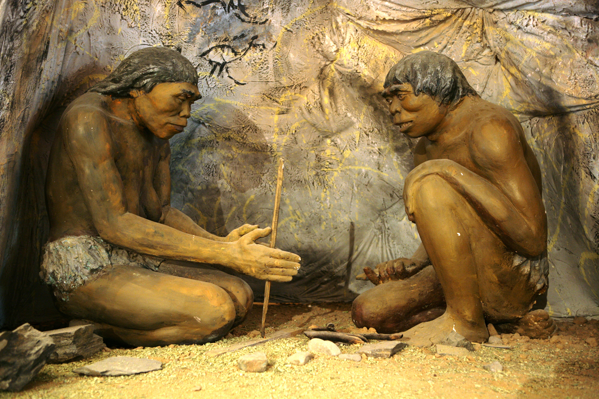 Diorama,_cavemen_-_National_Museum_of_Mongolian_History
