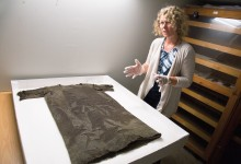 Recreating clothes from the Iron Age