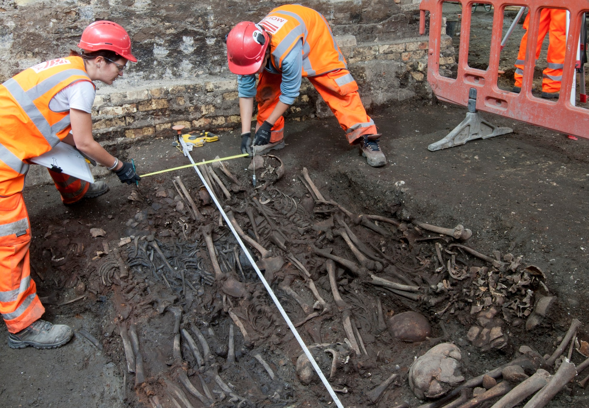Image result for crossrail plague pit