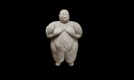 This 8,000-year-old figurine is notable for its craftsmanship. Such detail is only possible with thin tools, like flint or obsidian, in the hands of a practiced artisan. (Image credit: Çatalhöyük Research Project)
