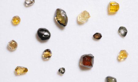 Analysis of diamonds from the Denver Museum of Nature & Science collection provide a look inside the earth's mantle. CREDIT Denver Museum of Nature & Science