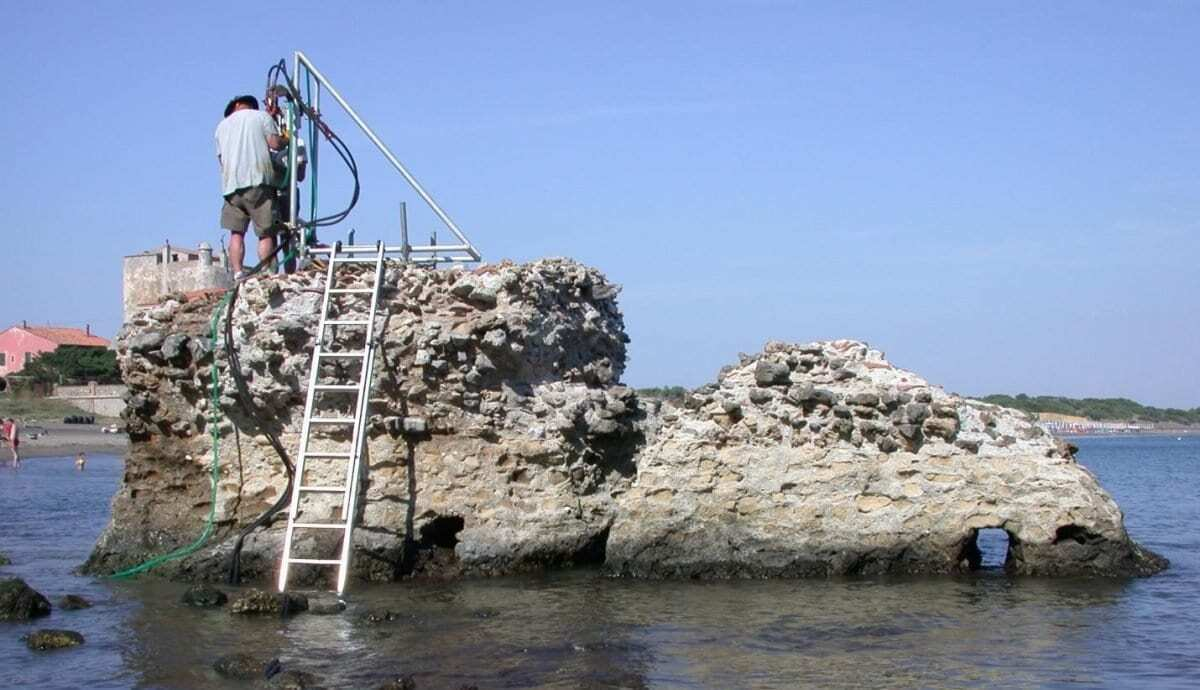 Solved: the secret of how Rome's concrete conquered the sea