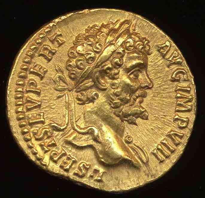 Emperor Septimius Severus:  Image PAS