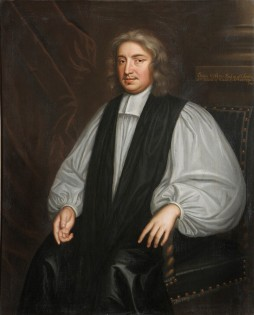 John Wilkins, by Mary Beale, c.1670, wearing the lawn sleeves of the Bishop of Chester. Credit: Courtesy of the Warden and Fellows of Wadham College, Oxford