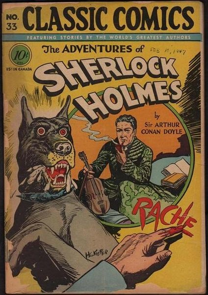 Adventures of Sherlock Holmes : Wikimedia commons