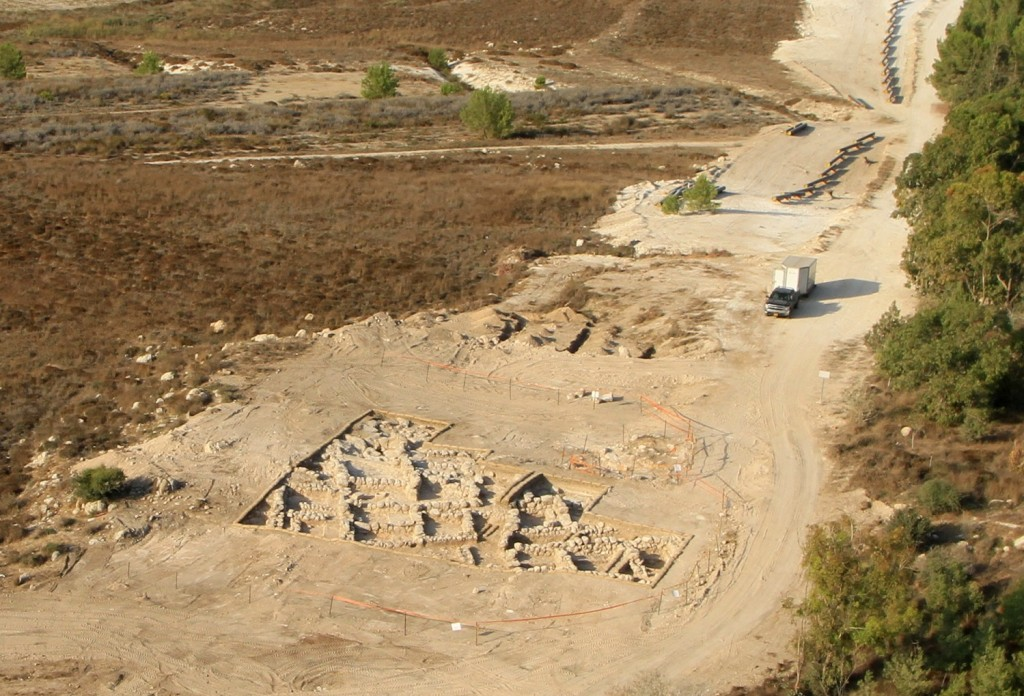 Photo credit: Skyview, courtesy of the Israel Antiquities Authority
