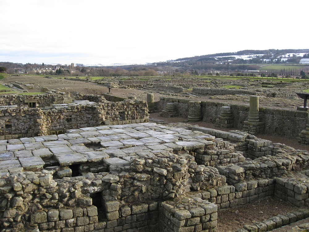 Corbridge Roman Ruins: WikiPedia